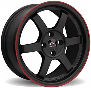 * 1 PC ROTA GRID 15X6.5 PCD:4X100 OFFSET:38 HB67.1 FBLK/RED