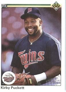 1990 Upper Deck # 236 Kirby Puckett Minnesota Twins - MLB Baseball Trading Card