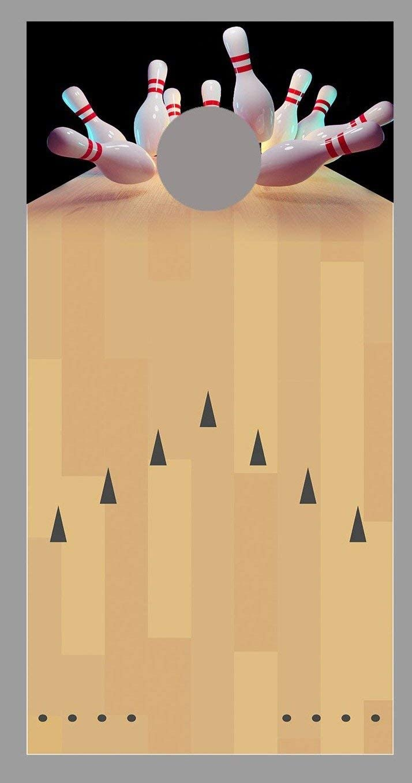 Bowling Lane Ranking TOP3 Strike Black Corn Decal Wrap Hole Board Popular product