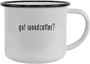 got woodcutter? - 12oz Camping Mug Stainless Steel, Black