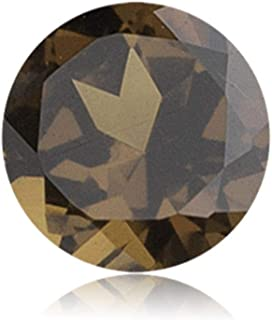 Mysticdrop Natural Smoky Quartz Round Cut Loose Gemstones from 4mm - 14mm