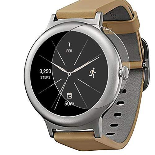 Vaxson 3 Stück Schutzfolie, kompatibel mit LG Watch Style LG W270, Bildschirmschutzfolie TPU Folie [nicht Panzerglas]