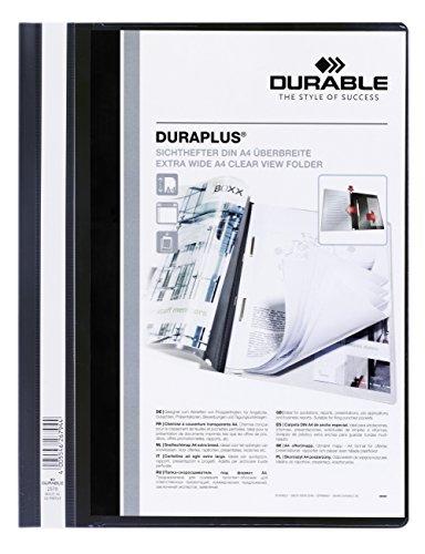 Durable C.Fastener Duraplus Ident - Dossier con identificador, color negro