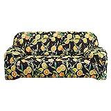 ASCV Funda de sofá Spandex Sofá seccional y sofá de Esquina para Sala de Estar Decoración geométrica Impresa para el hogar A7 3 plazas