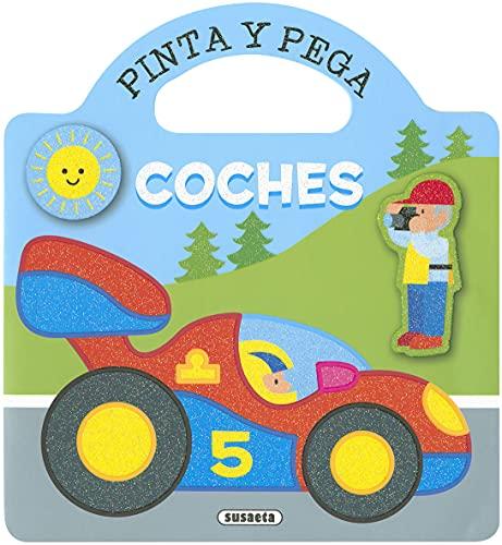 Coches (Pinta y Pega)