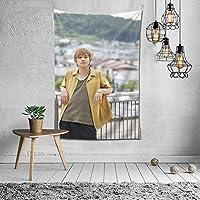 2021 北村匠海(きたむら たくみ、Kitamura Takumi) タペストリー ファッションの絶妙な印刷リビングルームの入り口寝室の背景壁の装飾カスタマイズされた壁掛け布 (152*102cm)