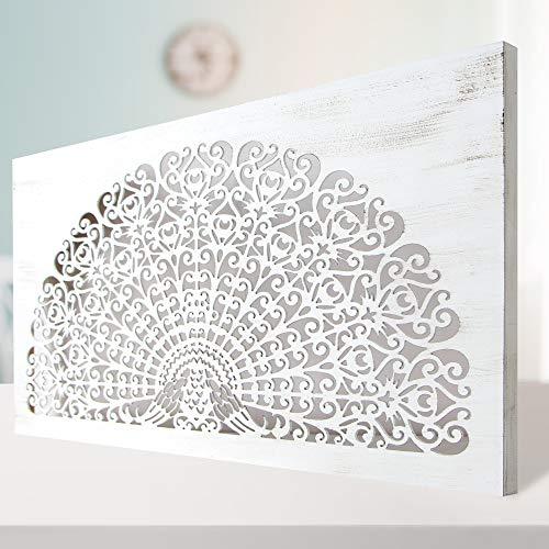 Cuadro Mandala de Pared Calada, Fabricado Artesanalmente en España, D