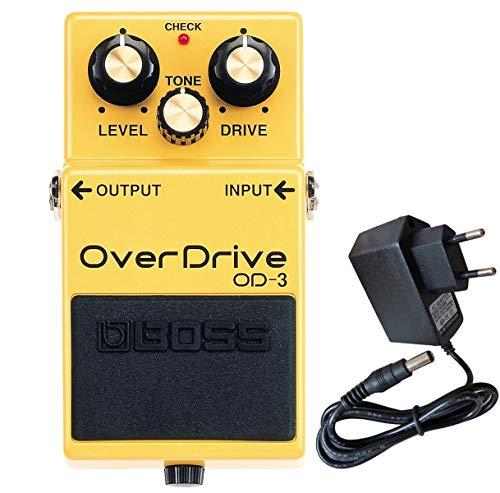 Boss OD-3 Overdrive Pedal + keepdrum Netzteil 9V