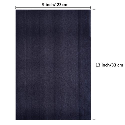 Carbon Transfer Paper Tracing Paper for Wood, Paper, Canvas (9 by 13 Inch, 30 Pack)