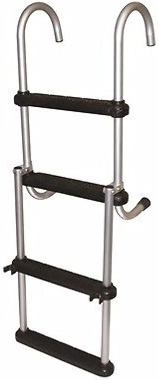 AMRJASC4  JIF 4 Step Removable Folding Pontoon Ladder