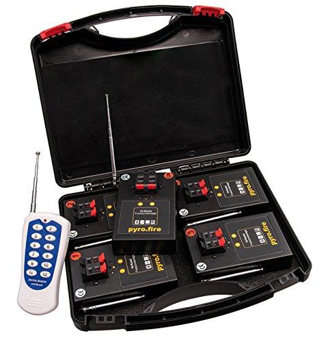Dispositivo di accensione a 10 canali per detonatori detonatori a distanza giochi pirotecnici impianti radio di detonazione.
