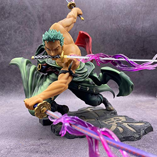 Handsome One Piece Anime Figure New World Roronoa Zoro Straw Hat Classic Battle PVC Action Figure Collectible One Piece Anime Merchandise