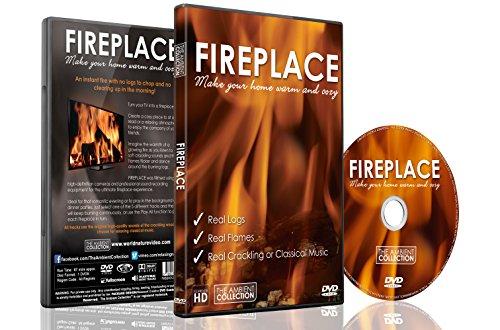 Feuer DVD - Kaminfeuer in HD - inklusive 40 Minuten Kaminfeuer Download