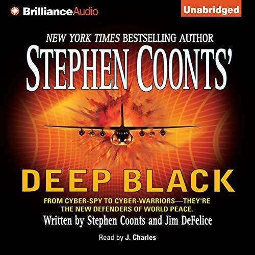 Deep Black Audiobook By Stephen Coonts,                                                                                        Jim DeFelice cover art