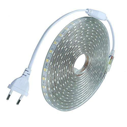 TechBox Strisce led 220V 10 metri per esterni IP68 Striscia bianco freddo