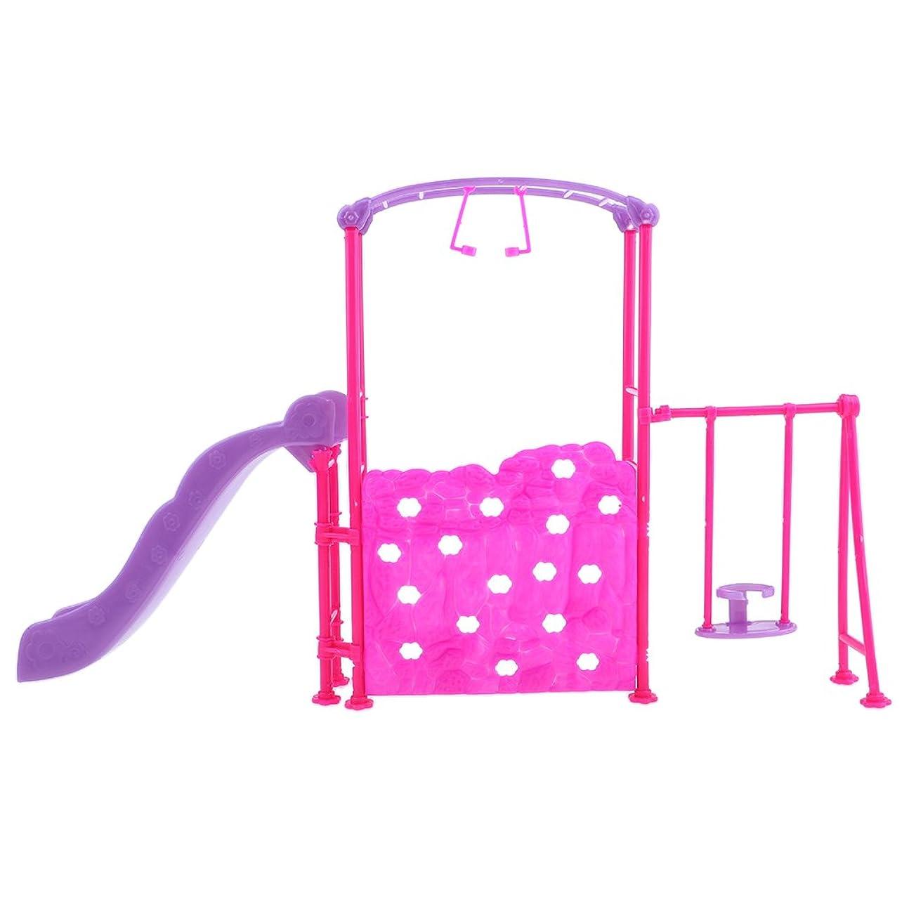 抑圧特殊兄プレイ施設  人形  ドール家具 1/6スケール ドール用   組み立て 遊び場 ハウス飾り