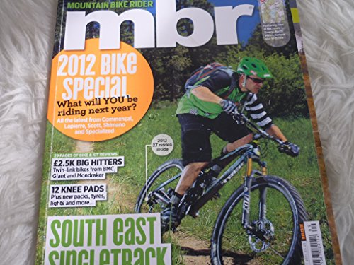 MBR Mountain bike rider magazine august 2011