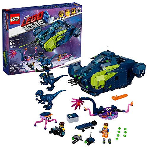 LEGO The Movie 2 Rex?s Rexplorer; 70835 Building Kit, Spaceship Toy with Dinosaur Figures (1172 Pieces)