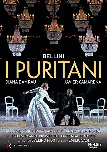 Vincenzo Bellini: I Puritani (Teatro Real de Madrid, 2016) [2 DVDs]