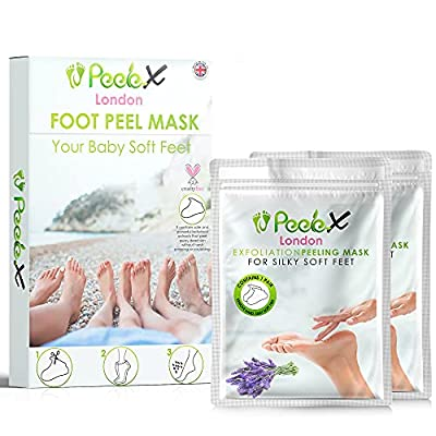 Forent, Socks Foot Peel Mask, Gray, 4 count from Forent