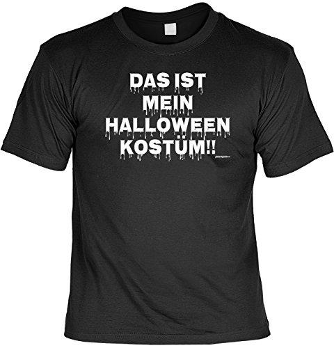 Camiseta de Halloween – Disfraz de Halloween – regalo espeluznante para fiestas y barbacoas, diseño de Goodman, color negro