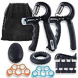 Ufree Grip Strength Trainer 7 Pack Hand Grip Strengthener Forearm Workout Hand Strengthener Kit...