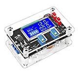 DC Buck Module, DROK Adjustable Buck Converter Step Down Voltage Regulator 6V-32V 30V 24V 12V to 1.5-32V 5V 5A LCD Power Supply Volt Reducer Transformer Module Board with USB Port Protective Case