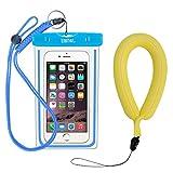 EOTW IPX8 Wasserdichte Hülle mit Kamera Schwimmer Handschlaufe, Wasser- und staubdichte Tasche für...