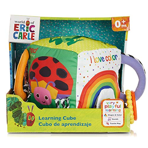 World of Eric Carle Soft Learning Cube for Babies