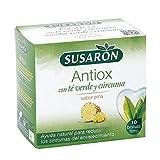 SUSARN infusin antiox con t verde y crcuma sabor pia estuche 10 bolsitas