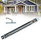 Protector de cable de bucle de puerta, control de acceso de bucle de puerta Sistema de control de protección de cable Puertos USB de montaje expuesto Protector de cable para sistema de
