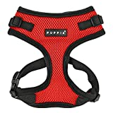 Puppia Ritefit Harness, Small, Red