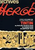 Archives Hergé 1 - Tintin