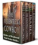 Brides of Deadwood Mail Order Brides 4 Book Set (English Edition)