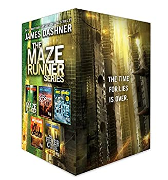 The Maze Runner Series Complete Collection Boxed Set  5-Book
