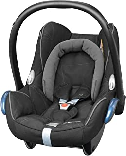 Unsere Kaufempfehlung Maxi-Cosi CabrioFix Babyschale, Baby-Autositze Gruppe 0 0-13 kg, nutzbar bis ca. 12 Monate, passend für FamilyFix-Isofix Basisstation, Black Diamond schwarz