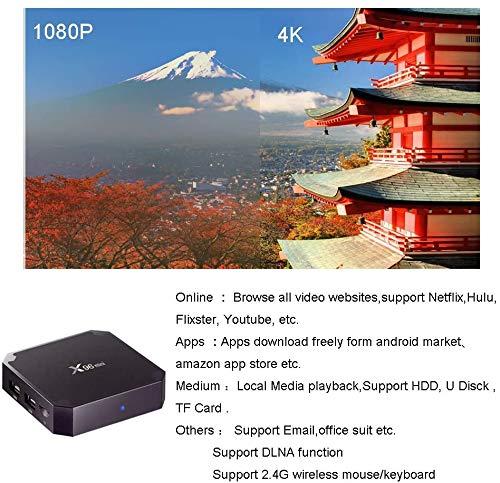 Android TV Box X96 Mini Android Box, Smart Media Player con 1GB de RAM 8GB de ROM Que soporta Smart TV Box 3D/4K/HD miniatura