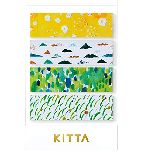キングジム マスキングテープ KITTA Clear KITT003 ヤマナミ