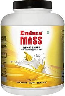 Endura Mass - A Weight Gainer 3 Kg- Banana Flavour
