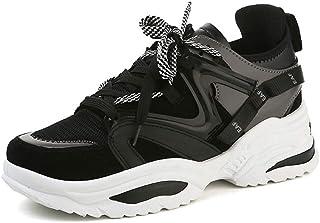 Donne Tacco Alto Sneakers Donna Piattaforma Casual Scarpe Donna Outdoor Respirabilespessa Suola Chunky Sneakers