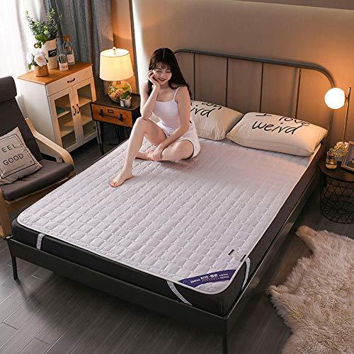 Zlzty Opvouwbare matras, dubbel, dikke slapen, tatami vloermat, opvouwbare futon matras, zachte Japanse roll up student, slaapzaal, matras