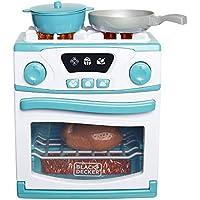 BLACK+DECKER Junior Oven and Stove Role Play Pretend Kitchen Appliance