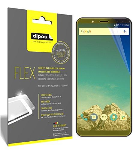 dipos I 3X Schutzfolie 100prozent kompatibel mit Vernee X Folie (Vollständige Bildschirmabdeckung) Bildschirmschutzfolie