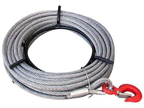 Rotek Ersatz Seilrolle für Seilzüge SZ-Serie in 20, 40 oder 60m Länge auf Haspel