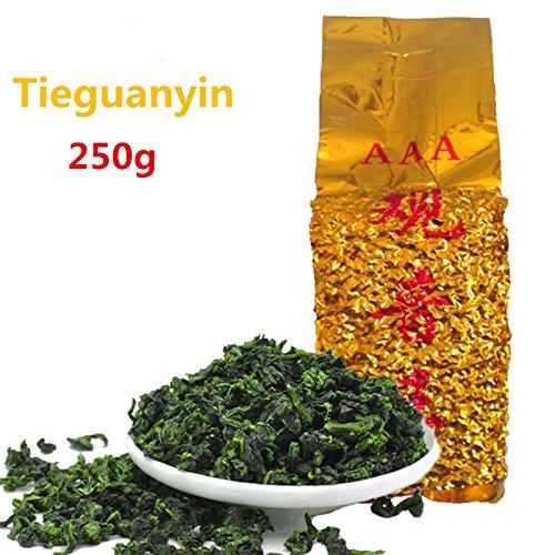 Erstklassiger chinesischer Oolong-Tee TiKuanYin grüner Tee Anxi TieGuanYin 250g (0.55LB) grüne Nahrungsmittel, der Tee-grünen Tee abnimmt