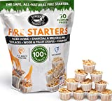 Superior Trading Co. All Natural Fire Starter 10-15 Minute Burn for BBQ,...