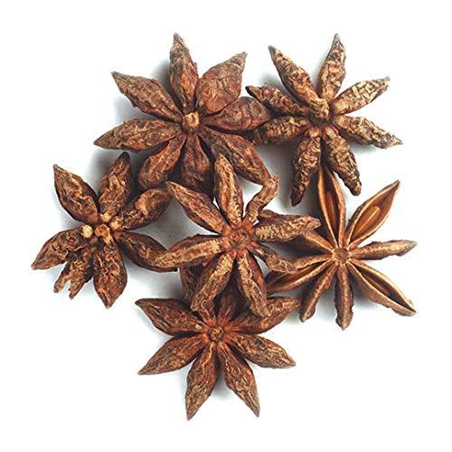 Frontier Co-op Star Anise Whole, Select Grade (minimum 75% whole stars), Certified Organic, Kosher | 1 lb. Bulk Bag | Illicium verum Hook. f.