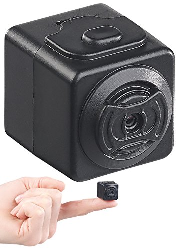 Somikon Micro Camera: Ultrakompakte HD-Videokamera mit Bewegungs-Erkennung, Magnet-Halterung (Pocket Cam)