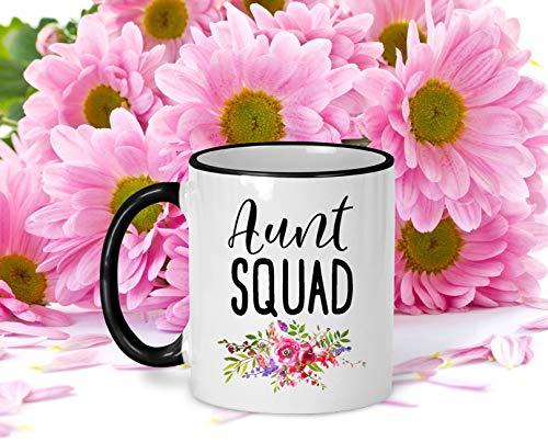 Thee Mok, Nieuwe Tante Mok Baby Aankondiging Mok Nieuwe Tante Koffie Mok Zwangerschap Aankondiging Mok voor Tante Tante Squad Mok Zuster Koffie Mok Slechts Een Mok
