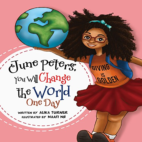 June Peters, You Will Change the World One Day audiobook cover art